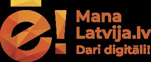 Mana Latvija logo